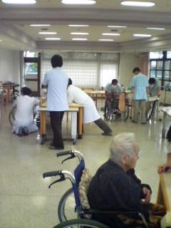 老人ホーム検診